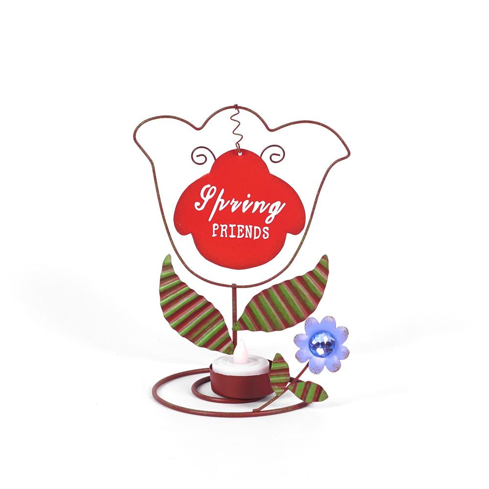 圣诞烛台 花